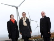 Energia and IIF open two new wind farms in Co. Tyrone