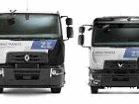 Renault Trucks announce sale of UK's first 100 percent electric D Z.E. trucks
