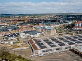 Solarwatt installs solar roof for Dresden public transport operator