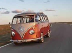 Volkswagen launch new e-Bulli 1966 classic with 2020 electric drive