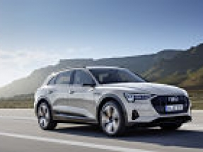 Audi launches fully electric e-tron in the UK