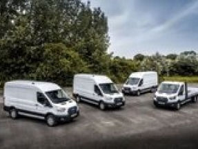Ford E-Transit hits the road in Europe