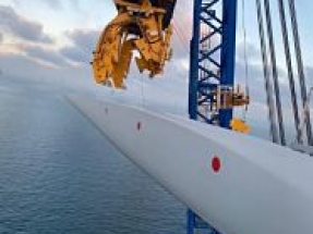 Turbine installation successfully completed at Offshore Wind Farm
