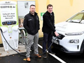 EasyGo.ie rapid charger goes live at Mullingar Park Hotel