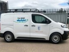 Falkirk Council goes electric with first delivery of new Citroën ë-Dispatch vans