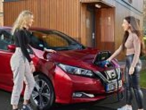 New Electric Nation allows EVs to power homes and support the electricity network
