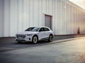 Audi launches new version of e-tron electric car
