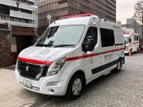 Nissan EV ambulance becomes part of 'Zero Emission Tokyo' initiative