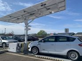 Tehama County Air Pollution Control District in California deploys EV ARC solar charger