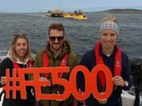 Young professionals undertake voyage across Scotland's energy landscape ahead of COP26
