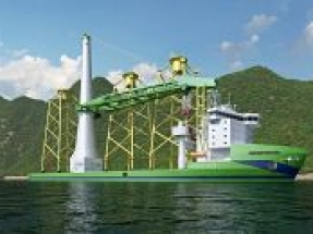 CSBC-DEME Wind Engineering (CDWE) enters into an early works contract for the very first Taiwan-built offshore wind installation vessel