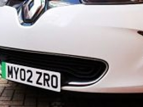 Green number plates get the go ahead for a zero-emission future