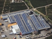 REC solar panels installed on Spanish IKEA stores