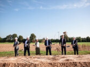 Enapter holds groundbreaking ceremony to celebrate start of construction of new electrolyser production facility