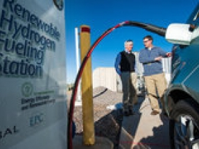 HyperSolar produces key component for low-cost renewable hydrogen