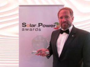 REC Group receives prestigious Solar + Power Award for its TwinPeak 2 solar panel