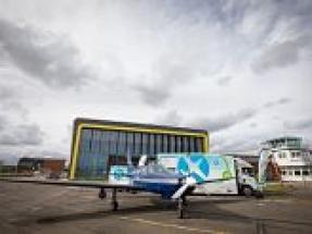EMEC mobile hydrogen refuelling solution to power aviation world first