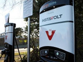 InstaVolt switches on first rapid charger for GoFuels Ltd in Horwich