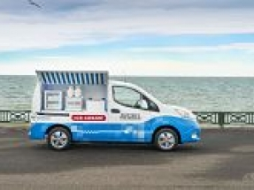 Nissan's 'Sky to Scoop' All-Electric Ice Cream Van campaign receives two awards at the PRCA National Awards