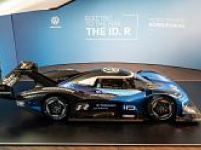 Volkswagen presents its ID.R fully electric racing car