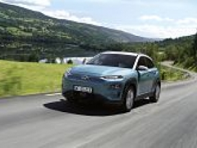 Hyundai Kona Electric now offers the longest range of any plug-in EV eligible for UK Government grant
