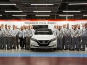 Nissan LEAF production overtakes iconic Bluebird's manufacturing in Europe