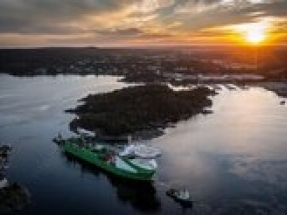 DEME Offshore LNG vessel successfully installs DolWin6 HVDC cable