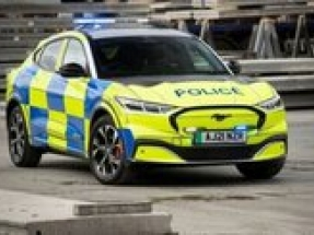 UK police forces show interest in new Ford Mach-E electric SUV