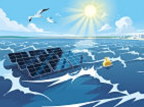 Expert consortium including DEME explores pioneering high-wave offshore solar technology