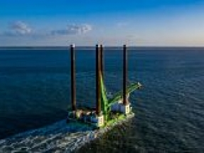 RWE and DEME Offshore install innovative foundation technology at Kaskasi offshore wind farm