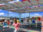 NRG Energy launches new solar powered playground