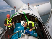 Spain's first offshore wind turbine installed by Gamesa