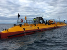 Scotrenewables Tidal Power sets new record with SR2000 2MW floating tidal turbine