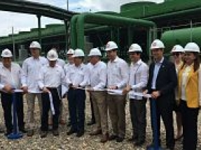President Hernandez joins OPIC to inaugurate Honduras first geothermal energy plant