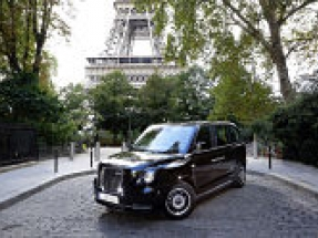 LEVC announces launch of TX electric taxi in Paris in early 2019