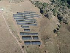 K12 Energy installs a solar system for PBS on top of a California mountain