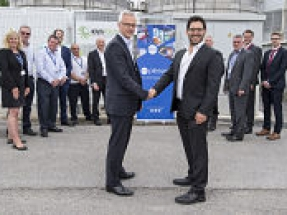Plessey and KiWi Power inaugurate energy-saving battery storage system at Plymouth facility