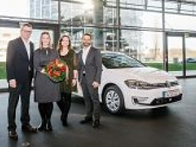 Volkswagen delivers 250,000th electric car