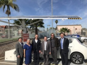Envision Solar EV ARC selected by City of Los Angeles to demonstrate solar EV charging