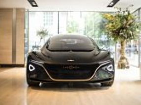 Aston Martin Lagonda showcases electric future