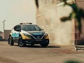 Nissan unveils 100 percent electric emergency response vehicle concept