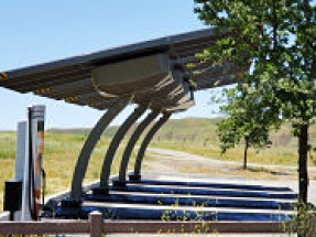 Envision Solar provides EV ARC fast charger for California highway rest area