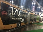BYD Motors unveils the world's largest electric vehicle