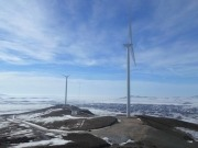 Spanish renewable energy company installs its first wind farm
