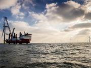 UK PM David Cameron opens world's largest offshore wind farm