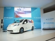 Nissan field tests new 100 percent electric compact van