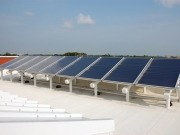 TGE Group installs UK's largest solar thermal plant