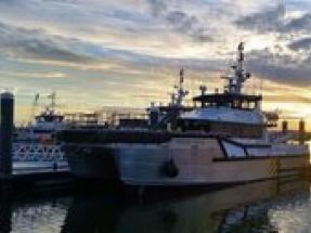 Seacat Magic joins OESV fleet at Greater Gabbard offshore wind farm