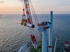 Turbine installation at Belgium's largest offshore wind farm crosses the finish line