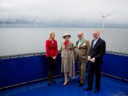 Denmark's largest offshore wind farm officially opened